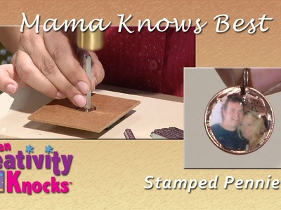 Mama Knows Best - Stamping Penny Charm