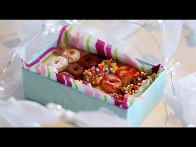 Mini Donuts - presents for Santa's elfs