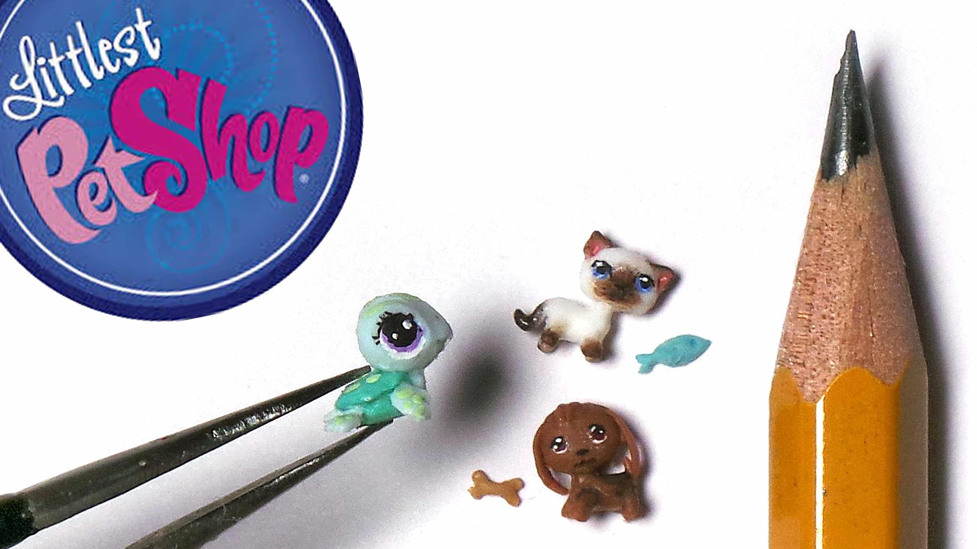 Miniature; Littlest Pet Shop Polymer Clay Tutorial