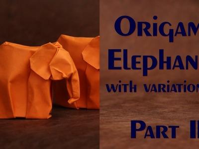 Origami Elephant Series Part III