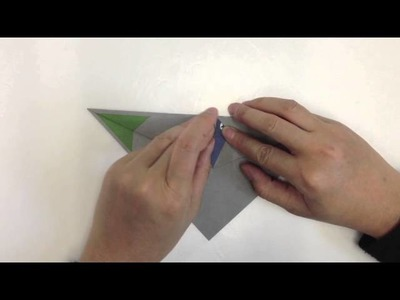 Origami Paper Planes - Ground Attack Fighter