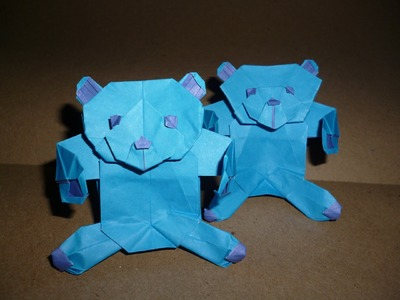 Origami Teddy Bear Instructions (Marc Kirschenbaum)