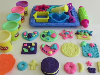 Play-Doh Cookie Creations Sweet Shoppe Playset DIY Plasticine Clay