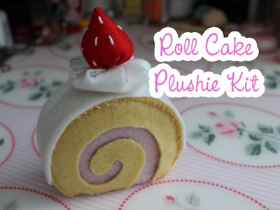 Roll Cake Plushie Kit