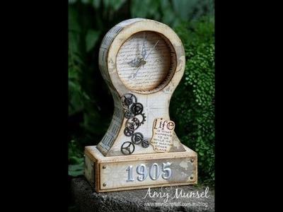 Vintage Mantle Clock Tutorial - Part 2 of 3
