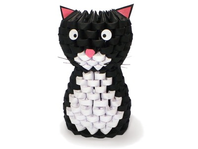 3D Origami Cat Tutorial
