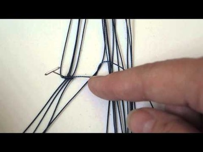 A tip for Double Half Hitch knots