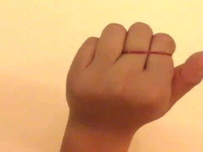 Best, Simple, Easiest Rubber Band Magic Tricks. How To.
