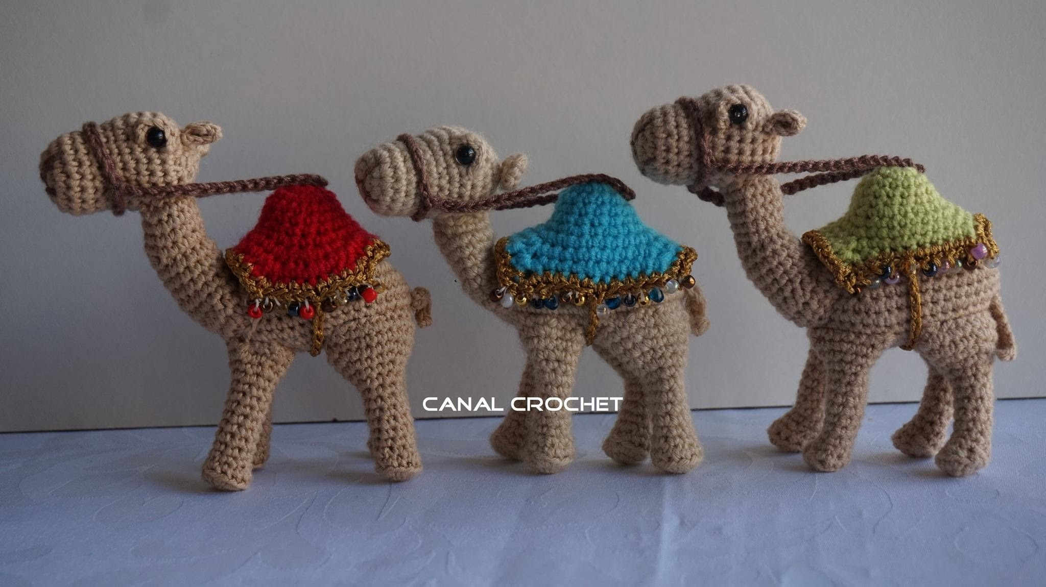 Camello amigurumi tutorial