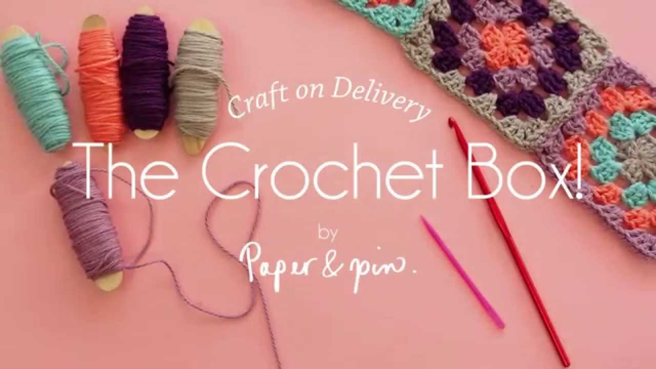 Craft on Delivery The Crochet Box - Magic Circle!