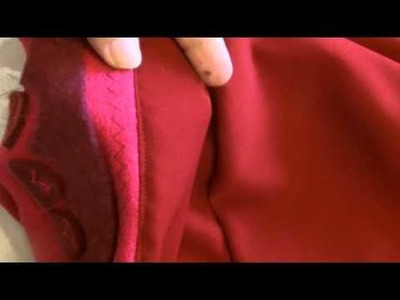 Disney Anna Mini Cape tutorial part 2 of 2