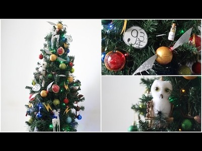 DIY: ÁRVORE DE NATAL DE HARRY POTTER