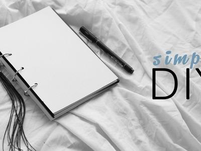 DIY Combined Diary + Planner Notebook. Rachel Aust
