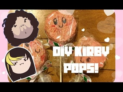 DIY - Cooking With The Grumps - Kirby Rice Crispy Pops!