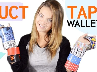 DIY Duct Tape Wallets | Tay from Millennial Moms