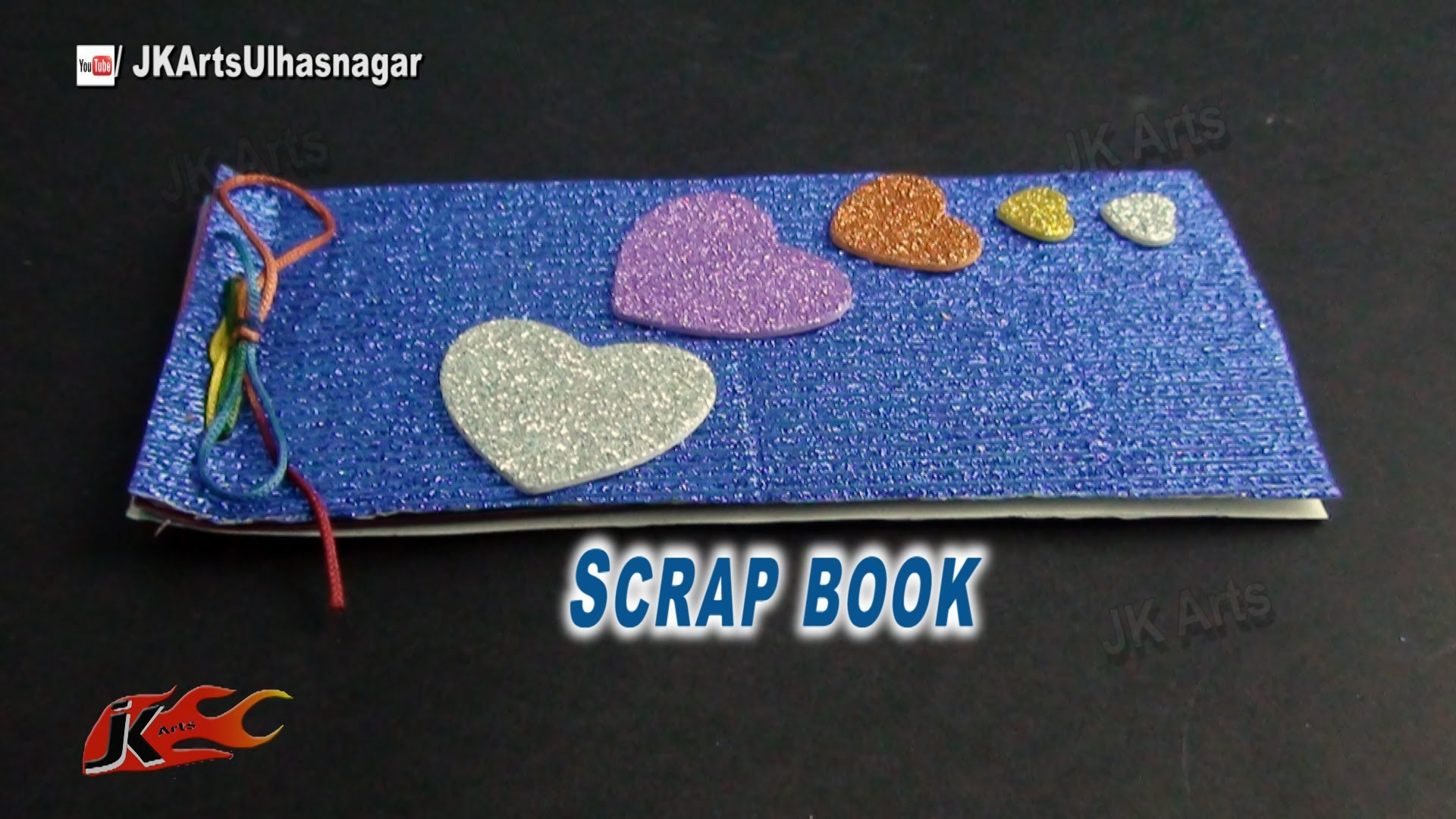 DIY Easy Photos Scrapbook | How to make | JK Arts  806