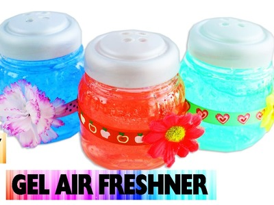 DIY Gel Air Freshener - Easy arts and crafts - No Cook