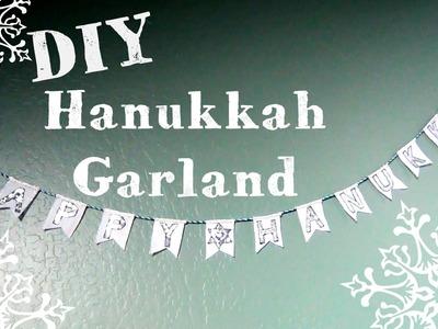 DIY ♥ Hanukkah Garland