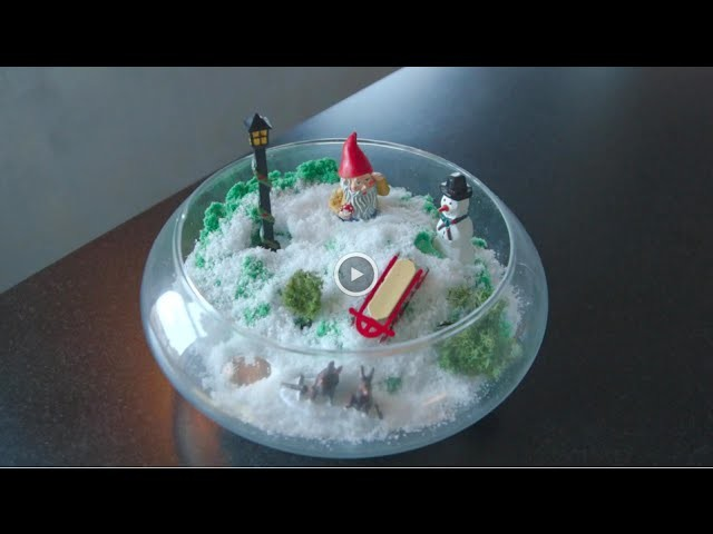 DIY Holiday Terrarium for Kids