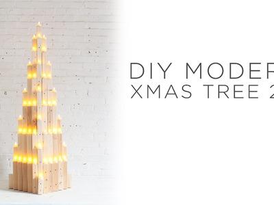 DIY MODERN XMAS TREE