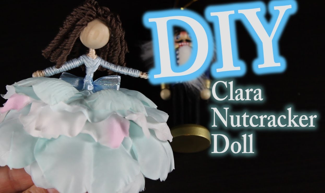 DIY Nutcracker Doll  - How To Make Clara From The Nutcracker