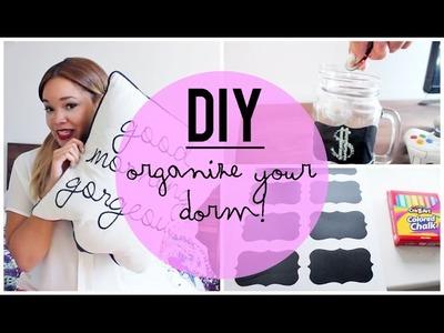 DIY: Organize Your Dorm Room!