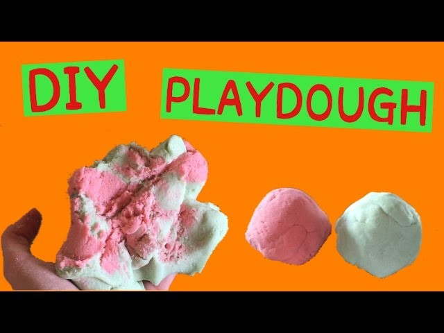 DIY Play Dough! How to Make No Cook Play Dough WITHOUT Cream of Tartar!