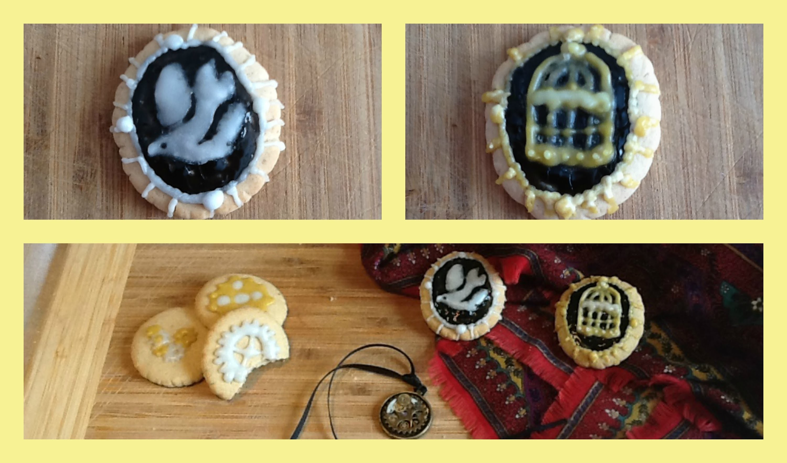 Geek Galaxy DIY - Bioshock Infinite Cookies