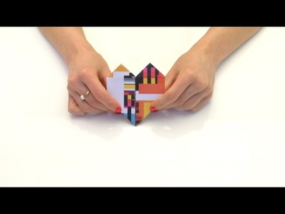 Giffgaff origami - transform your packaging into a heart