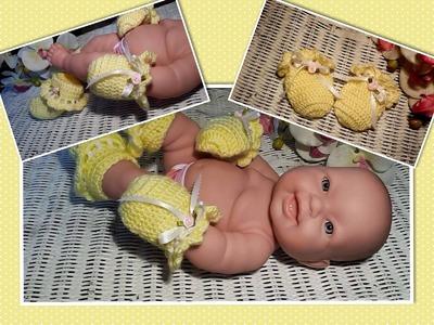 Glama's Crocheted Newborn Baby Mittens