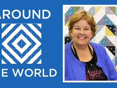 Half Square Triangles Around the World Quilt: Easy Tutorial with Jenny Doan of Missouri Star
