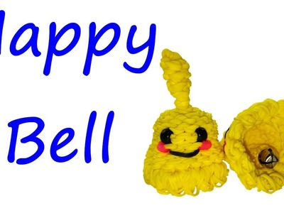 Happy Bell Tutorial by feelinspiffy (Rainbow Loom)