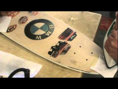 How to Iron Transfer Color Pictures to Wood (skateboard edition)
