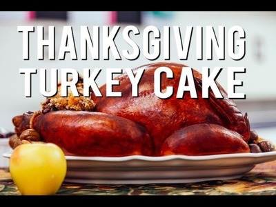 How To Make a CAKE that looks like a THANKSGIVING TURKEY! With Vanilla Cake and Modeling Chocolate!