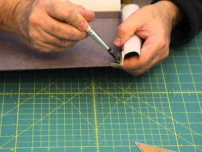 How to make a Clamshell Portfolio