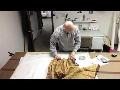 How To Make A Pinch Pleated Drape (Figuring Pleats And Spaces)