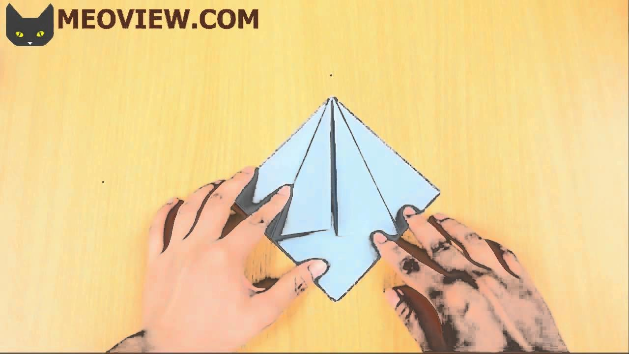 How to Make an Origami Flapping Bird  - Origami Instructions