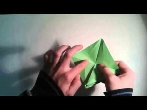 How to make an origami three headed monster    [Origami - Papiroflexia]