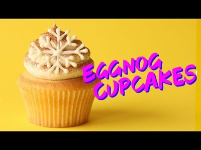 How to Make Eggnog Cupcakes | The Scran Line