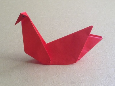 How To Make Origami Swan Easy For Beginners