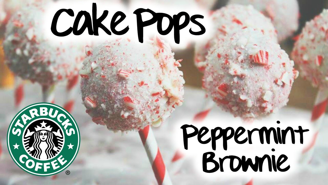 How to Make: Starbucks Peppermint Brownie Cake Pops!