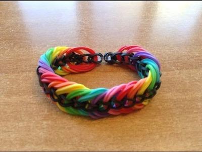 Loom Bands | Rainbow Loom | Bracelet Rainbow Loom Français | Bracelet Élastique Rainbow Loom