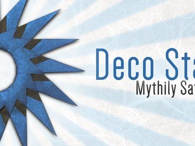Origami Deco Star (Mythily Satchi)