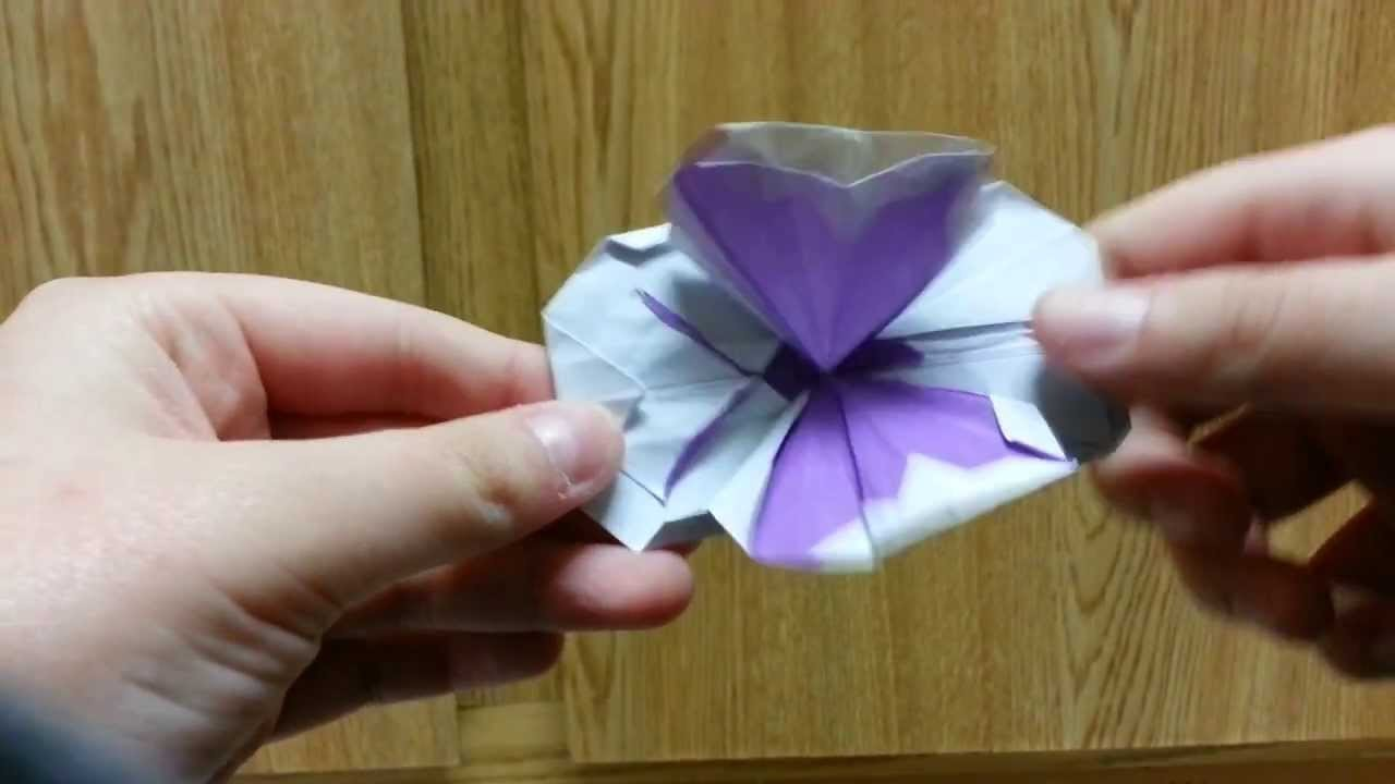 Origami Flapping Butterfly Pop-up Card, Designed By Jeremy Shafer - Not A Tutorial