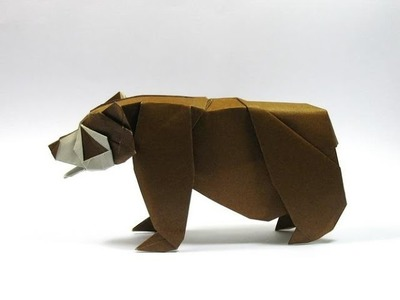 Origami  How to make origami bear  Paper bear