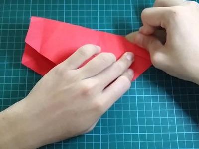 Origami Naomiki Sato Pentagon Rose