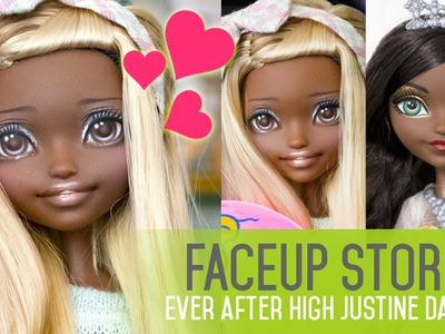 Repainting Dolls - EAH Justine Dancer - Faceup Stories 39
