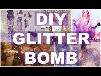 REVENGE DIY. GLITTER BOMB YOUR ENEMIES!. CHEAP FAST & EASY