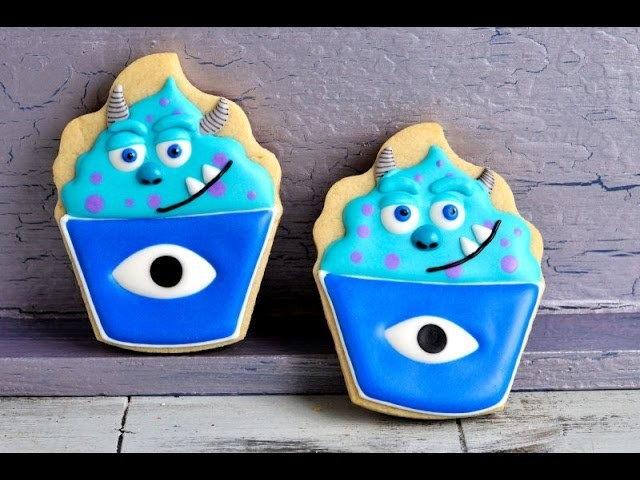 SULLY MONSTERS UNIVERSITY COOKIES, HANIELA'S
