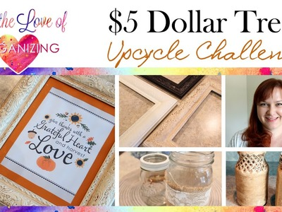 $5 Dollar Tree Up-cycle Challenge Collab: Vintage Look Transformation
